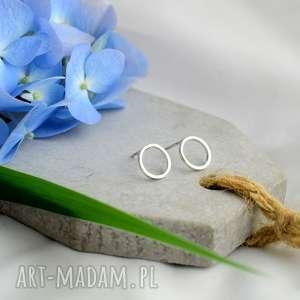 Prezent Kolczyki koła, kolczyki, minimalizm, minimalistyczne, prezent, boho, koła