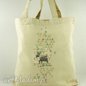 torba dogi - płócienna, nadruk, prezent, oryginalna, dzień, dziecka, matki