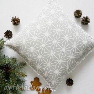 Pomysł na upominek: Śnieżynki poduszki ziarka śnieżynki, śnieżka