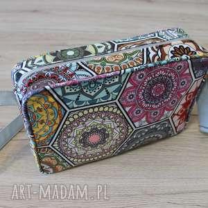 single bag - kolorowe heksagony, wesele, prezent, święta, wizytowa, pakowna