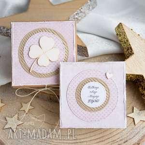 pudełeczko z kartką pełne uczuć i słów, urodziny, imieniny, kartka urodzinowa