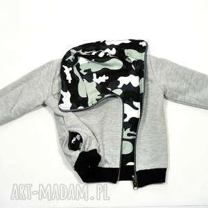 MORO bluza dla chłopca, dwustronna z kołnierzem, asymetryczna, 68-116