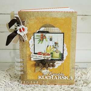 vairatka-handmade przepiśnik pomarańczowy 384 kulinarny, notes