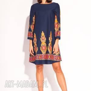 Sukienka Orsi, orientalna