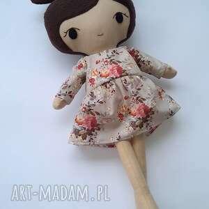 Lalka przytulanka zuzia, 49 cm lalki patchworkmoda lala, lala