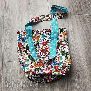 święta, eco torba bawełniana, torba, szoperka, motyle
