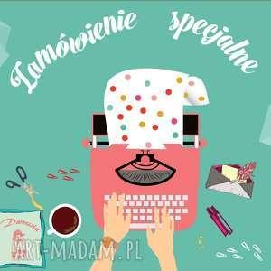 scrapbooking notesy zamówienie specjalne dla pani jakubowskiej dziennik /planner