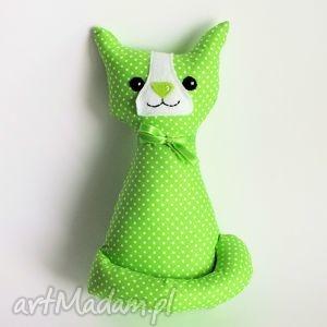 ręcznie robione zabawki kotek miauqn - teo