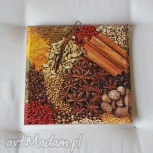 obrazek - słodko gorzki, decoupage, obrazek, obrazki, przyprawy, kuchnia, kuchenny