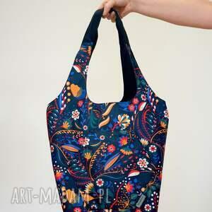 torba damazy kwiatowy folk, hobo torba, na wszystko, unikat, boho