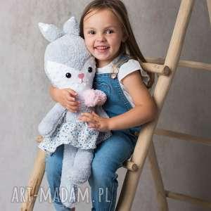 maskotki przytulanka dziecięca królik w spódniczce, poduszka dziecięca, pomysł