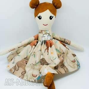 lalka ręcznie szyta, szmacianka dla dziewczynki, handmade