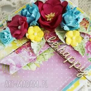 Kolorowa Be Happy w pudełku - Hand-Made