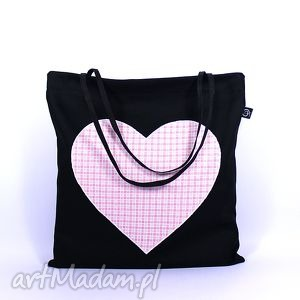torba codzienna zakupówka 19, siatka, zakupy, torba, eko, serce na