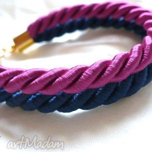 ręcznie wykonane bransoletki bransoletka ze sznurków