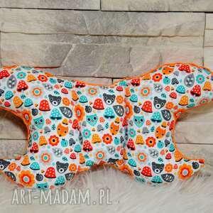 popielewska style poduszka motylek zakochany muchomorek, poduszka, turystyczna