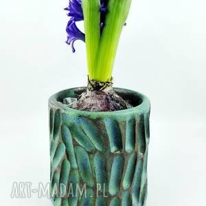 Prezent Doniczka na kaktus, prezent, kwiaty, doniczka, turkus