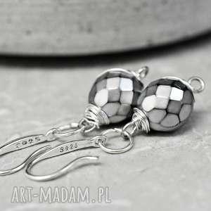 925 srebrne kolczyki grenlandia - delikatne, prezent kobiece, lekkie