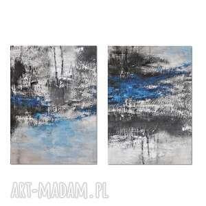 tierra el hielo 4, abstrakcja, nowoczesny obraz ręcznie malowany