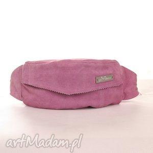 nerki nerka skóra naturalna różowa zamsz, nerka, skórzana, zamszowa, rower, elegancja