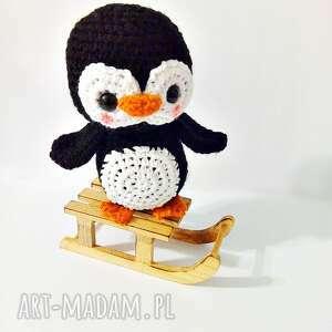 Pingwinek Pim Pom - Ręcznie zrobione