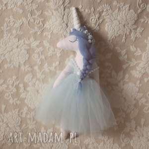 bajkoszycie magiczna bajka - lalka bękitny jednorożec, jednorożec