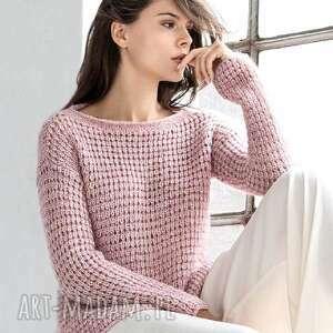 sweter almada, sweter, pulower, prezent, kobiecy, wełniany, ręcznie
