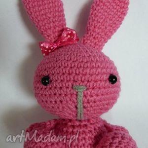 króliczek bany, królik, króliczek, maskotka, zabawka, przytulanka, amigurumi dla