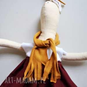 pomysł na upominki święta Pani Królik , przytulanka, szmacianka, lalka, królik