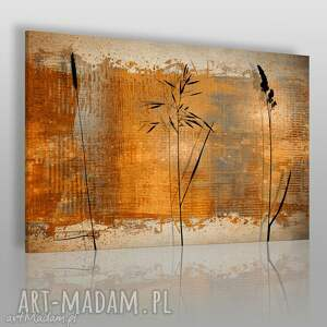 obrazy obraz na płótnie - rośliny elegancki 120x80 cm 29001, zboże, kłosy