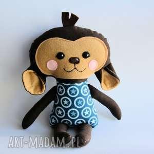 małpka marek - wersja s - 35 cm - małpka, gwiazdka, chłopczyk, dziecko