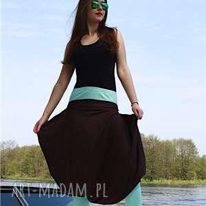 spodnie bombkowe spódnico-spodnie, spódnica, spodnie, ekstrawaganckie, wygodny
