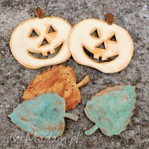 Jesienne magnesy, dynia, halloween, liście, jesień, kuchnia