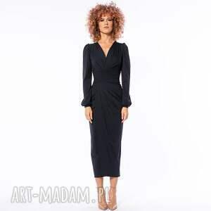 sukienki diva black night - koktajlowa sukienka