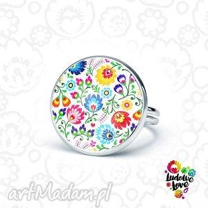 pierścionek folk, folkor, ludowy, polskie, wzory, narodowe, prezent