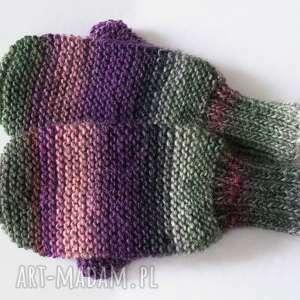 rękawiczki wełniane rękawiczki, mitenki, jednopalczaste
