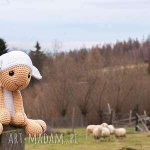 unikalny, owieczka benio, owca, szydełkowa, sheep, owieczka, maskotka, lamb