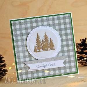 pomysł na upominek kartka świateczna, krajobraz, zimowy, świąteczna, świateczne, boże