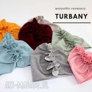 Turban z bawelny, turban