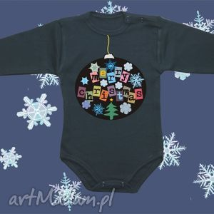 body niemowlęce merry christmas, dziecko, body, bluzka, świąteczne, ubranka