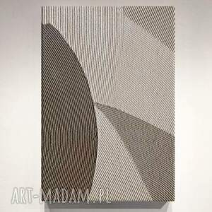 eleganza - stonowany elegancki obraz na ścianę do wnętrz przytulnych w beżowych