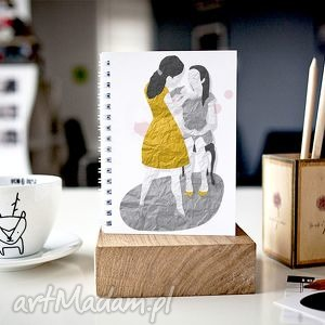 handmade notesy mama i córka - notes