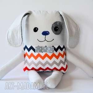maskotki piesek łatek - bartek 39 cm, pies, chłopczyk, maskotka, przytulanka