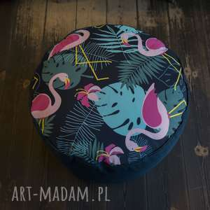 Przepiękny pokrowiec flamingi do wypełnienia samemu - 60cm