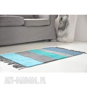 dywan, chodnik bawełniany, dywanik, z frędzlami, ze sznurka