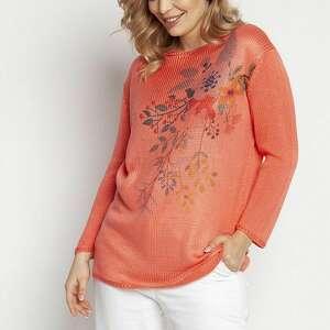 mkm swetry sweter z nadrukiem - swe235 koral mkm, nadrukiem