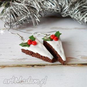 świąteczne ciasto, fimo, święta, świąteczny prezent
