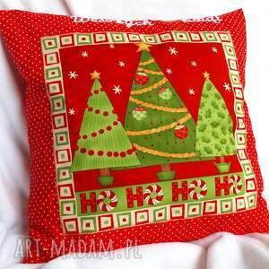 poduszki poduszka z choinką, poduszka, pillow, święta, mikołaj, prezent, choinka