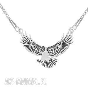NASZYJNIK z orłem - PASSION - ,orzeł,ptak,celebrytka,srebro,pasja,925,