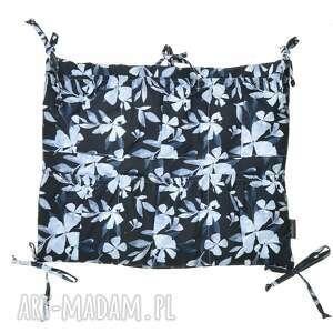 hand-made dla dziecka organizer do łóżeczka blue flowers